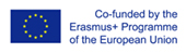 Logo Erasmus cofinancé