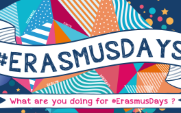 EduBioMed project participates in the #ErasmusDays 2020: October 15, 2020