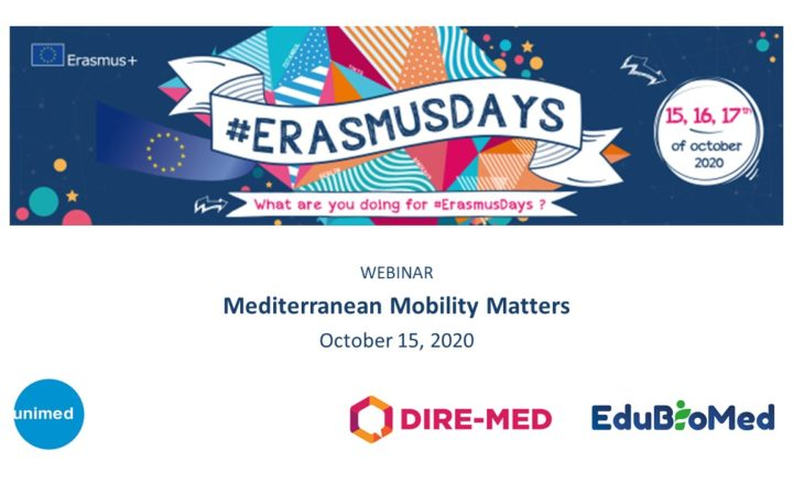 EduBioMed celebrated the Erasmus Days talking about mobility