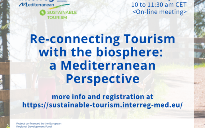 Re-connecting Tourism with the biosphere: a Mediterranean Perspective_May 19, 2021